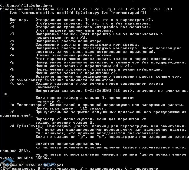 Windows Komutları: konsolu akıllıca kullanın