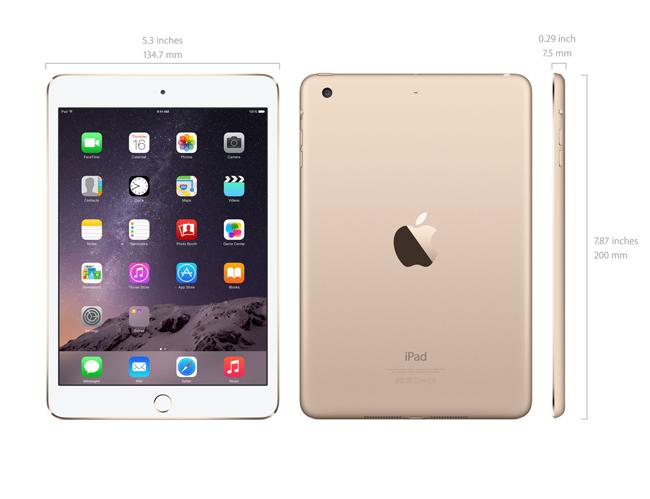 Trang bị các thông tin trên, bạn có thể dễ dàng xác định mô hình iPad nào  đang ở trước mặt bạn.